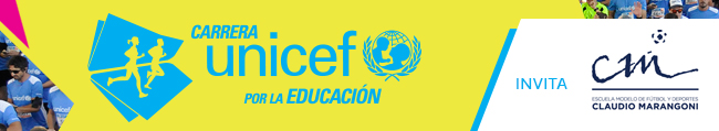 Carrera UNICEF por la Educación 2018 - DOMINGO 11/03 7.30HS
